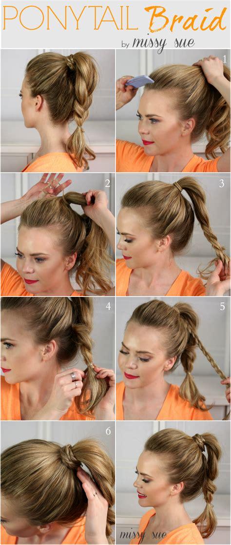 super easy ponytail hairstyles fashionsycom