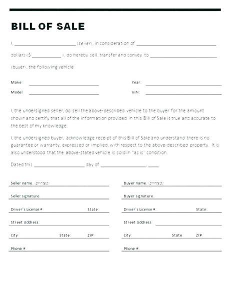 personal car sale bill of sale recrea co