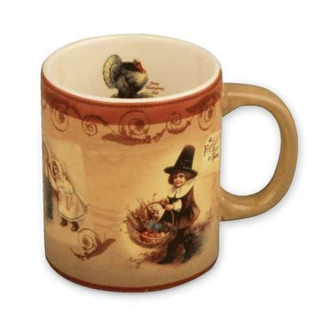 thanksgiving mug ebay