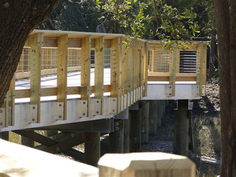 governors park boardwalk completed jon guerry taylor