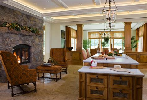 kitchen fireplace design ideas 25 fabulous kitchens showcasing warm and cozy fireplaces 4762