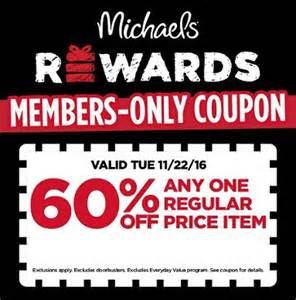 Kmart Christmas Trees by Michaels Rewards Members 60 Off Coupon