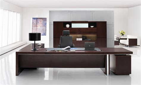 modern bureau professional office desk sleek modern desk executive