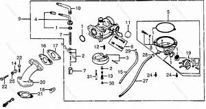 honda atv 1985 oem parts diagram for carburetor With diagram of honda atv parts 1985 atc250es a carburetor diagram