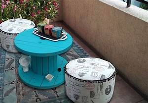 Table Basse Terrasse : touret table basse et table d 39 appoint en 30 id es diy ~ Teatrodelosmanantiales.com Idées de Décoration