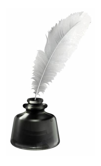 Ink Quill Pot Transparent Clipart Vector Pen