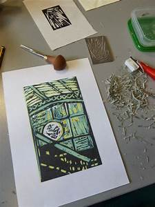 Jacqui Dodds Art: Introduction to Reduction Lino Printing ...