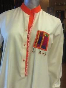 Sindhi Machine Embroidery Kurta In Boski