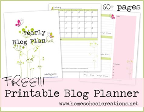 printable blog planners fab