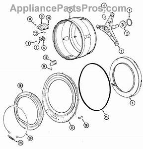 Parts For Maytag Mah3000aaw  Spinner Assembly  U0026 Outer Tub