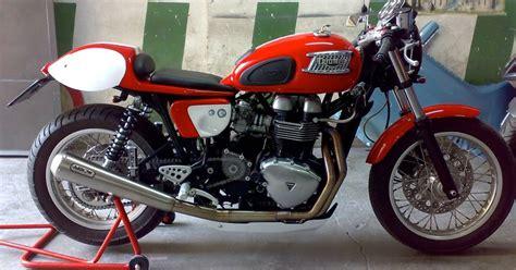 Modification Triumph Thruxton by Modification S Customized Triumph