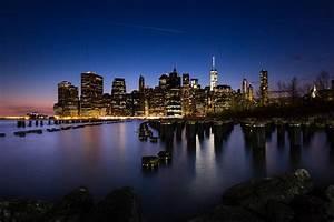 New York Leinwand : new york city skyline night leinwand fineart myphoto4fun ~ Markanthonyermac.com Haus und Dekorationen