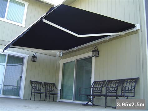 roll  patio window door outdoor awning xm buy