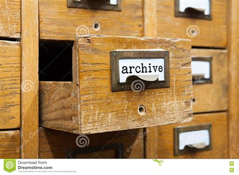 library index card index archive royalty free stock image cartoondealer com