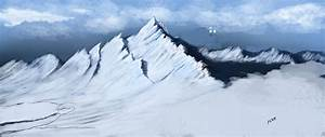 Snowy Mountains - Unfinished by X2X0-Art on DeviantArt