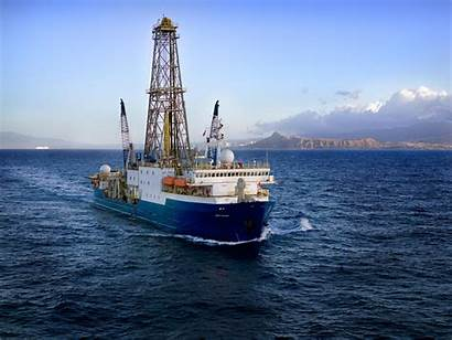 Joides Resolution Ocean Expedition Program Drilling Ship