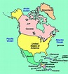 North America Interactive Map for Kids: Click and Learn