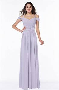 Light Purple Bridesmaid Dress - Gorgeous A-line Off-the ...