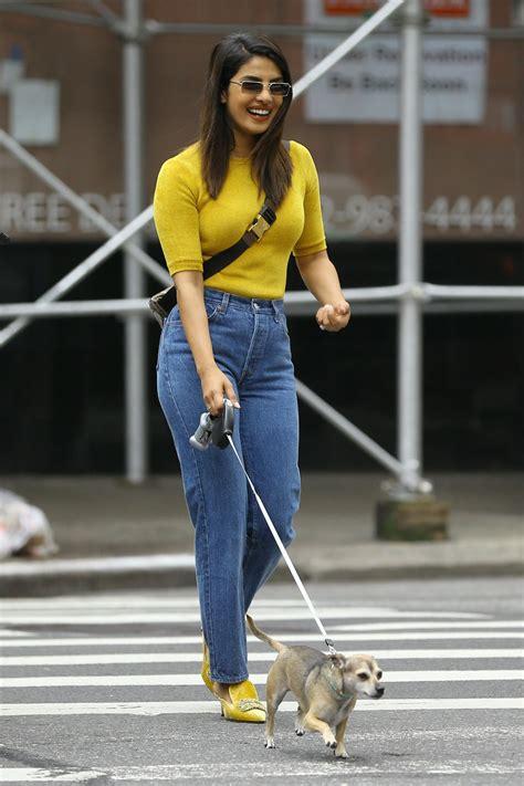 Priyanka Chopra Out on a stroll in New York City - Celebzz ...
