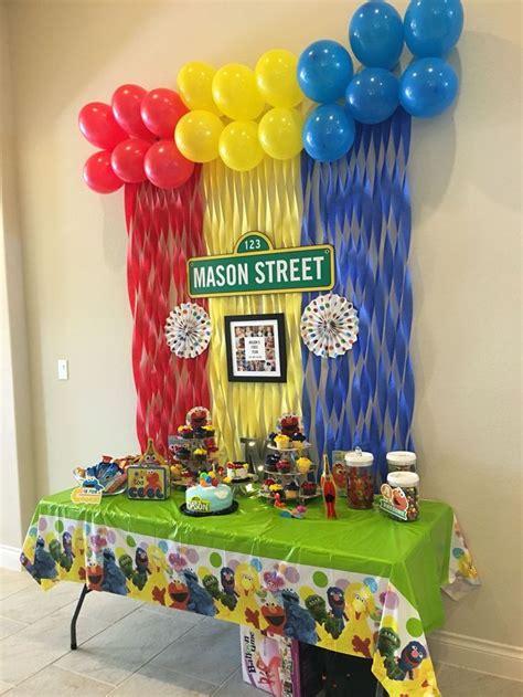 sesame street  birthday party elmo sesamestreet