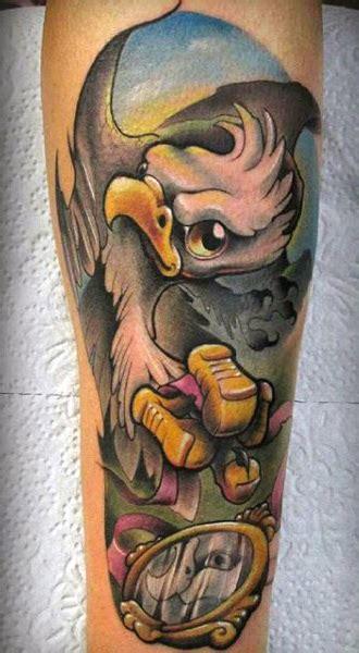 eagle tattoos  men  soaring flight  designs
