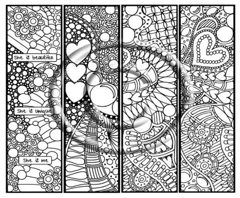InstantDownload Coloring Page Hand Drawn Zentangle