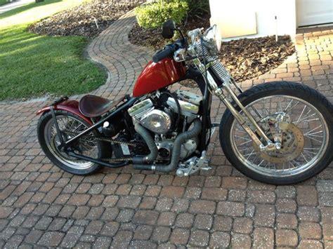 Harley Davidson Chopper Rat Rod Bobber For Sale On 2040-motos