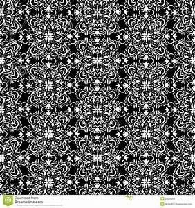 Papier Peint Rayé Noir Et Blanc : papier peint noir et blanc de vintage r illustration de ~ Dailycaller-alerts.com Idées de Décoration