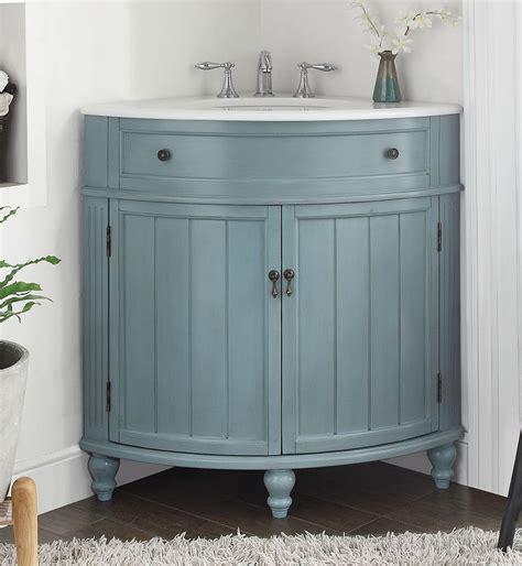 24 inch bathroom vanity for corner beadboard style light