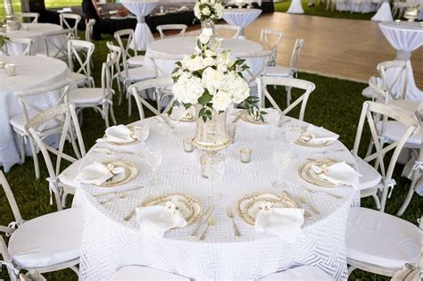 White And Silver Wedding