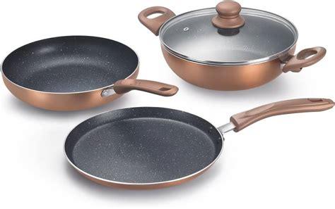 prestige cookware omega induction kitchen bottom festival build pack piece aluminium pan 1299 india 1pc