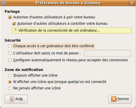 controler a distance sa machine ubuntu via vnc ubuntu logiciels libres