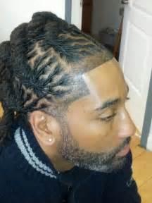 braided loc mohawk braids  black hair braided