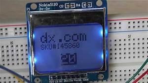 1 6 U0026quot  Nokia 5110 Lcd Module Test