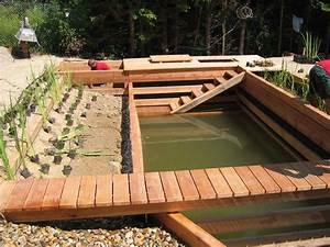 Holz Versiegeln Gegen Wasser : holz naturgarten schwimmteiche wir planen bauen und ~ Lizthompson.info Haus und Dekorationen