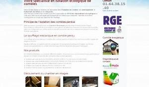 Comble Eco Energie : adresse et avis sur le bottin ~ Melissatoandfro.com Idées de Décoration