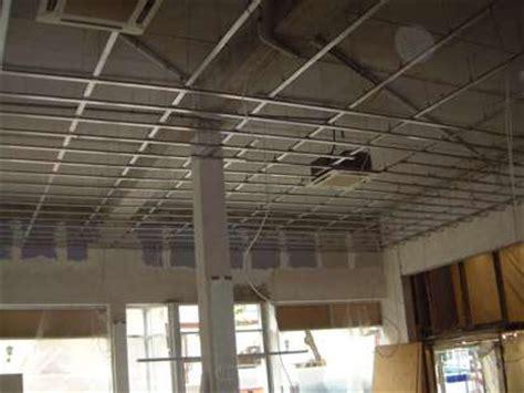 gipskartonplatten decke unterkonstruktion gipskarton decke rigips unterkonstruktion