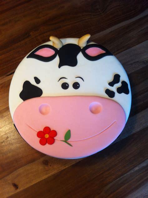 taart decoratie ideeen koe taart voor diza kindertaarten by karin pinterest
