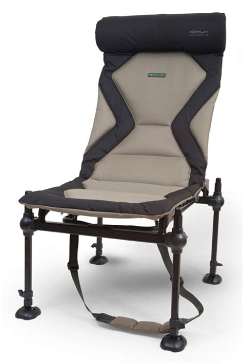 siege feeder korum deluxe accessory chair chapmans angling