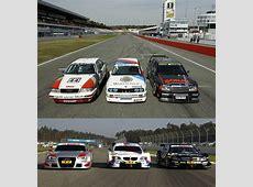 Left, right or centre? Classic DTM Audi, BMW, Mercedes