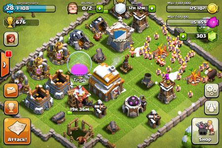 clash of clans android how to rule at clash of clans on iphone and android
