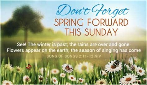 spring  ecard  daylight saving begins cards