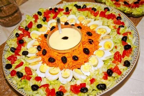 lala moulati cuisine salade marocaine lalla moulati moroccan food recipes