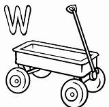 Wagon Coloring Pages Chuck Drawing Printable Wheel Template Clipart Clip Clipartmag Library Popular sketch template