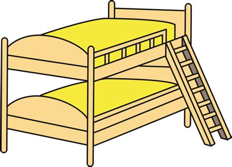 bunk beds with clipart bunk beds
