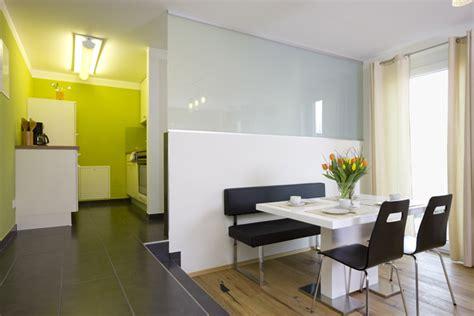 Halboffene Kuche by Offene Wohnung Wohnk 252 Che Schlafzimmer Und Bad Ohne W 228 Nde