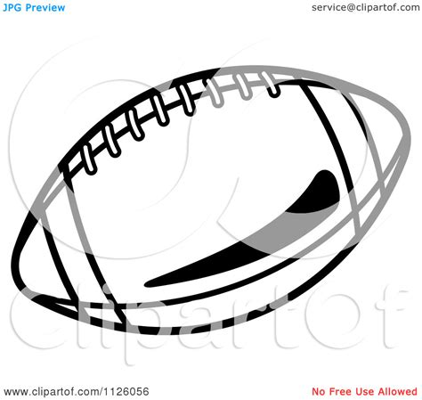 american football vector black and white the gallery for gt american football outline