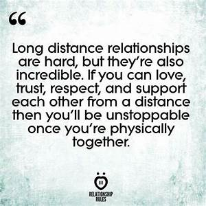 Long Distance Quotes : Long distance relationships are ...
