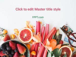 fruit powerpoint templates