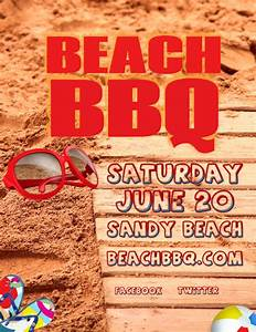 Barbecue Flyer Template